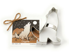 Ann Clark Cookie Cutter Howling Coyote With Recipe Card