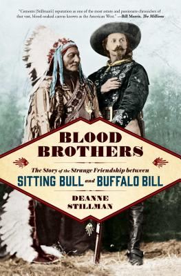 Blood Brothers Sitting Bull and Buffalo Bill Book Cover