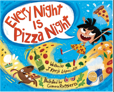 Every Night is Pizza Night Book Cover
