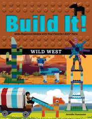 Build It! Wild West Book Cover