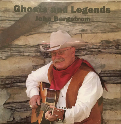 Ghosts and Legends CD by John Bergstrom