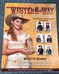 Western Way Magazine Cover Kristyn Harris