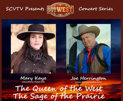 Mary Kaye and Joe Herrington SCVTV OutWest Concert Series