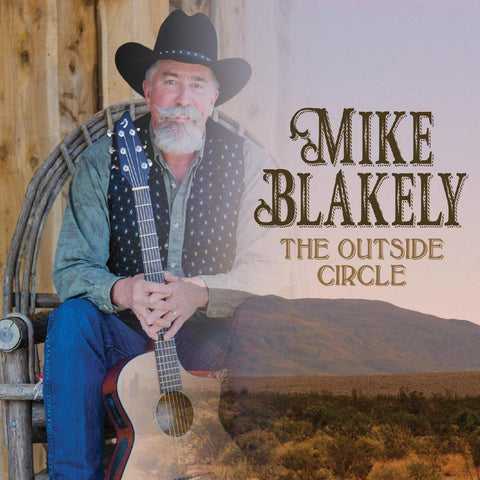 CD The Outside Circle by Mike Blakely