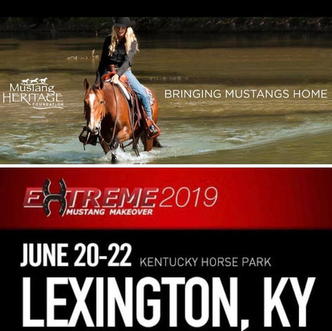 Mustang Heritage Foundation Extreme Mustang Makeover June 20-22 Lexington, KY
