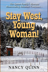 Book Cover Stay West Young Woman!