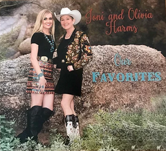 Our Favorites CD by Joni Harms and Olivia Harms