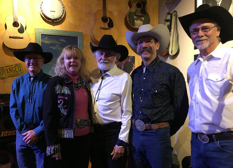 Bobbi with The Cowboy Way Trio
