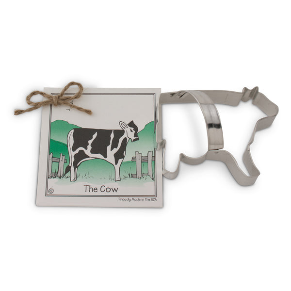 Ann Clark Cookie Cutter Cow with Recipe Card