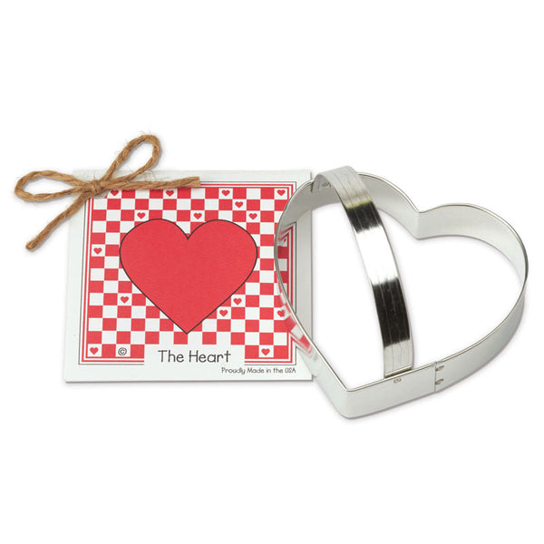 Ann Clark Cookie Cutter Heart with Recipe Card