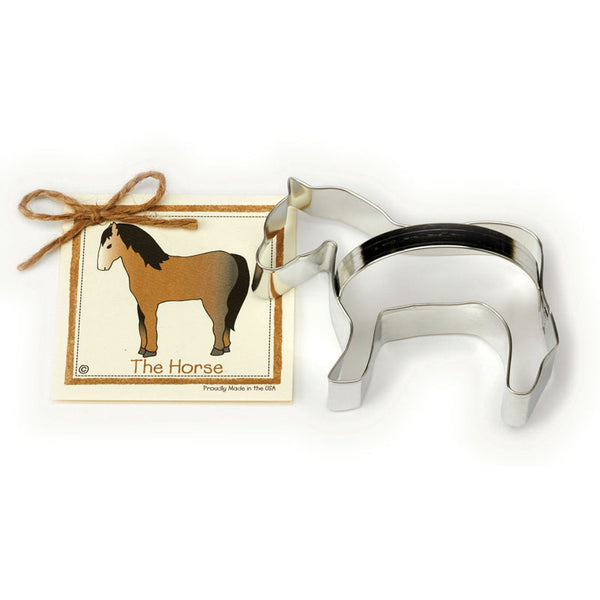 Ann Clark Cookie Cutter Horse with Recipe Card #1501043