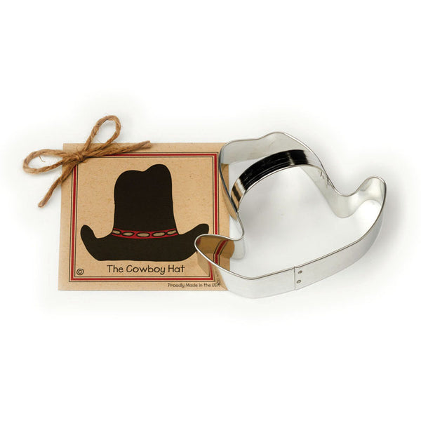 Ann Clark Cookie Cutter Cowboy Hat with Recipe Card #1501098