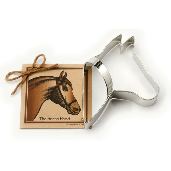 Ann Clark Cookie Cutter Horse Head with Recipe Card #1501105
