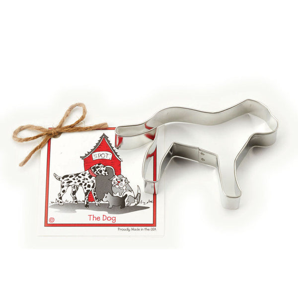 Ann Clark Cookie Cutter Dog with Recipe Card #1501113