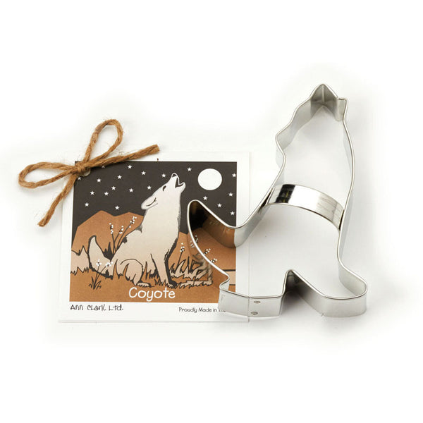 Ann Clark Cookie Cutter Coyote with Recipe Card #1501156