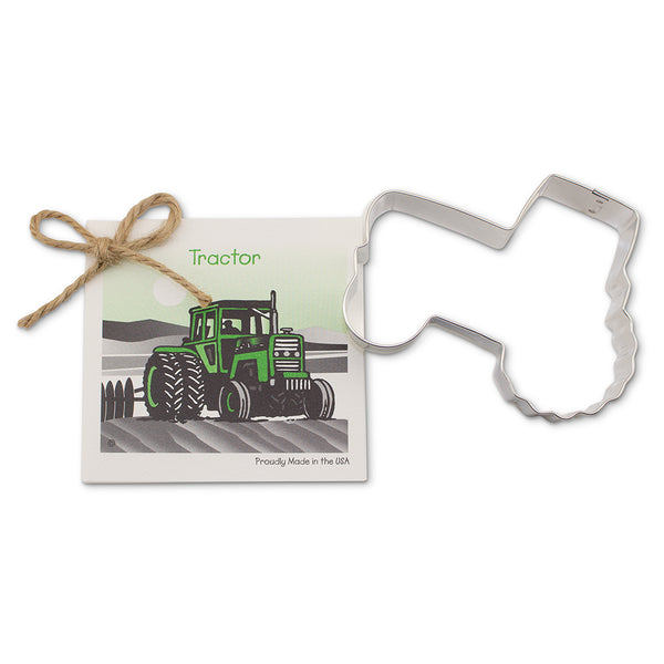 Ann Clark Cookie Cutter Tractor with Recipe Card #1501178