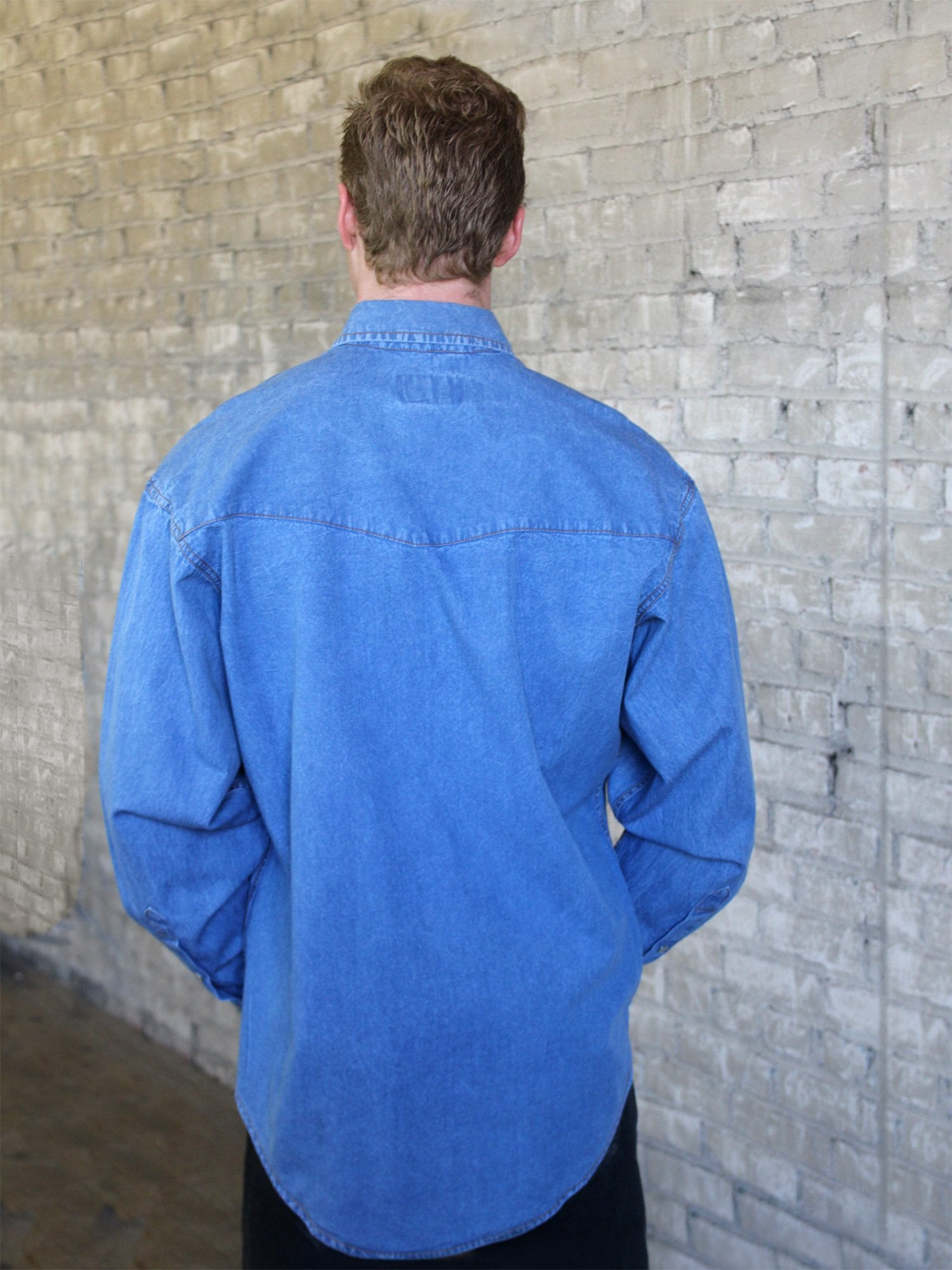6bf048f1 Western Shirt Collection: Rockmount Ranch Wear Mens Stonewashed ...