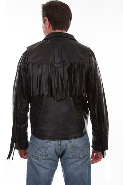 9d530d8bc Men's Leather Jacket Collection: Scully Motorcycle with Fringe