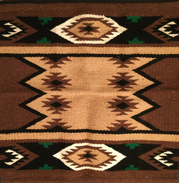 Saddle Blanket Navajo Brown