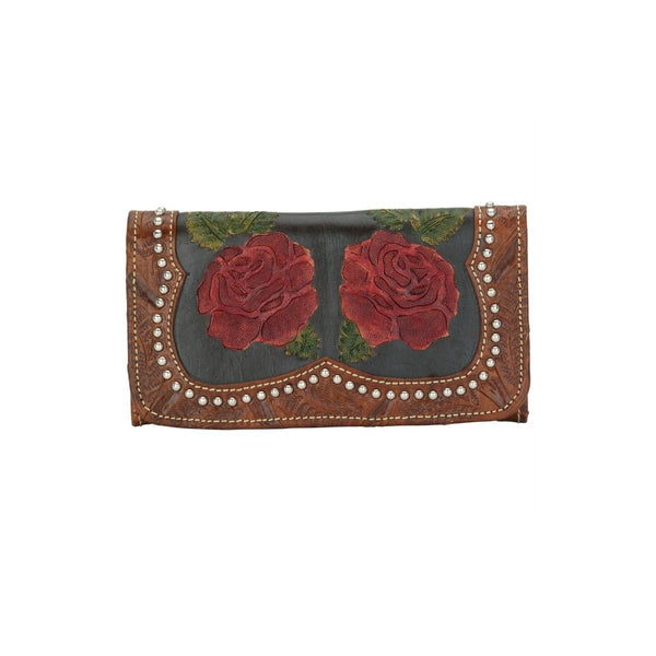 American West Roses Are Red Wallet Front #1915282