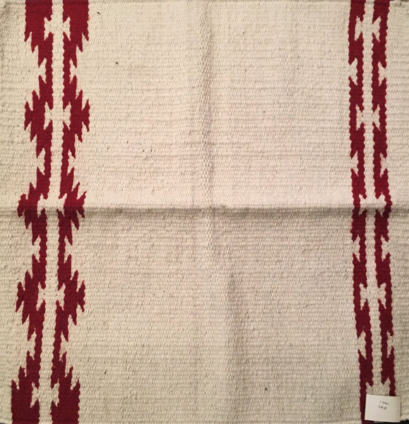 Saddle Blanket Laredo Natural Red