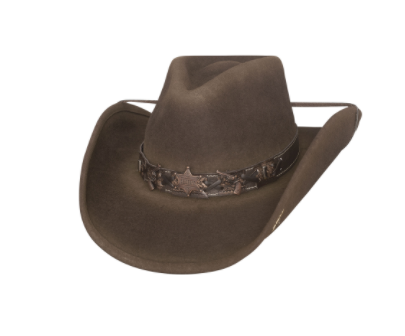Bullhide Hats Best Shot Chocolate #500786B