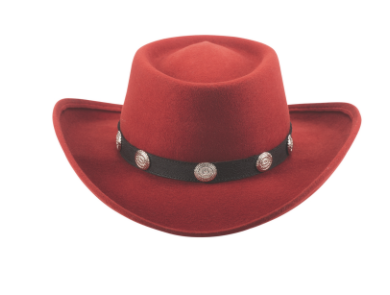 Bullhide Hats Close Friend Red #500809A