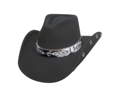 Bullhide Hats Crazy Horse Black #502021