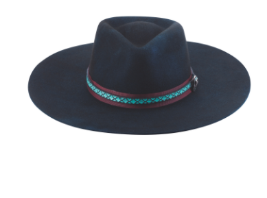 Bullhide Hats Dark Blue Nashville Fun Front #500832
