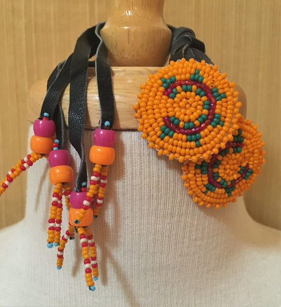Navajo Beaded Hair Ties