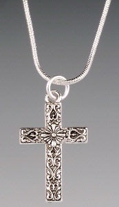 Necklace Southwest Cross on Chain