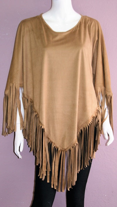Ladies' Fantazia Apparel Poncho Body Silhouette