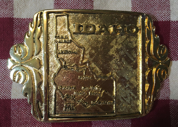 Trophy Buckle State of Idaho