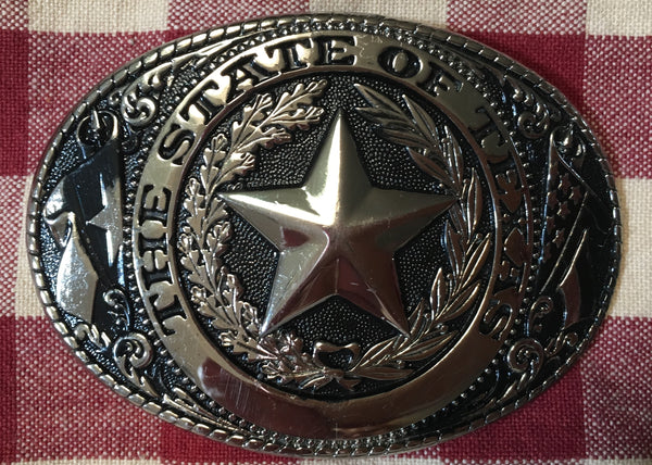 Accessory: Trophy Buckle The State Of Texas