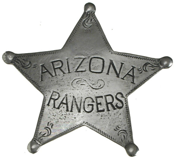 Historic Replica Badge Arizona Rangers 5 Point Star Front
