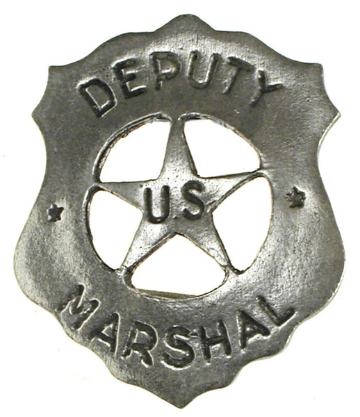 Historic Replica Badge Deputy US Marshal Shield Front