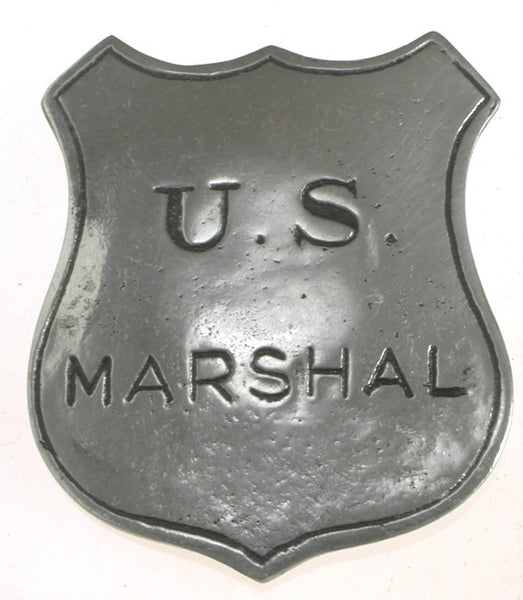 Historic Replica Badge U.S. Marshal Shield Front