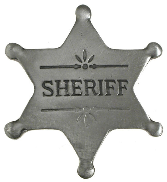 Historic Replica Badge Sheriff Star Front