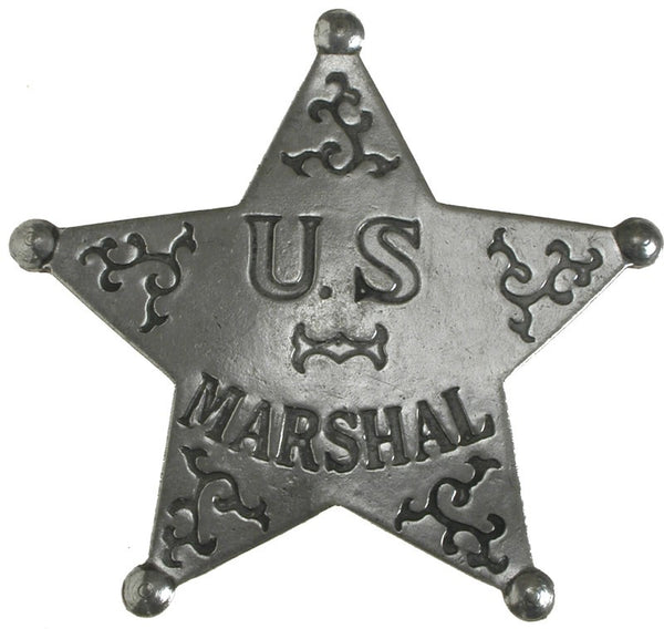 Historic Replica Badge U.S. Marshal Front