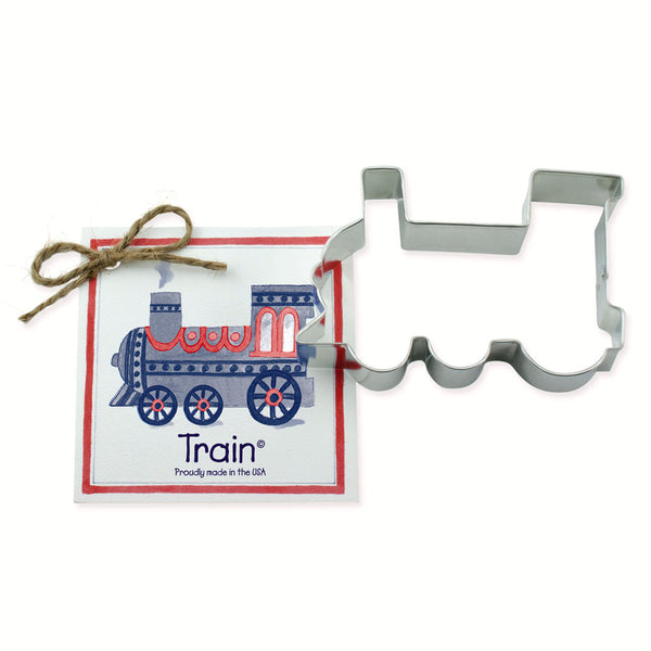 Ann Clark Cookie Cutter Train with Recipe Card #1501071