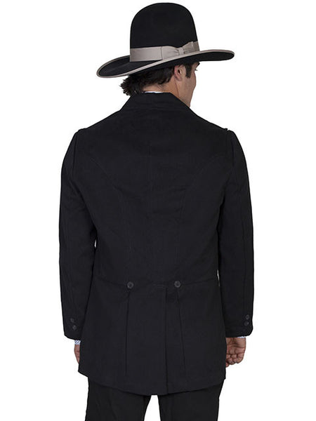 Mens Scully Old West Wahmaker Jacket with Notched Lapels Front
