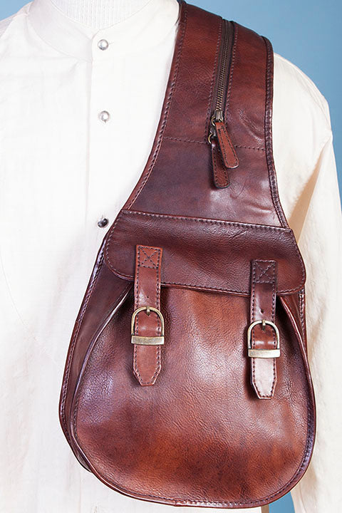 Scully Old West Style Travel Saddle Bag Side 2