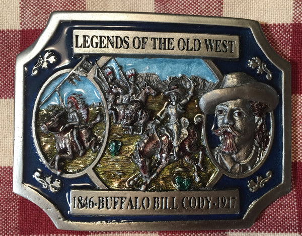 Trophy Buckle Legends of the Old West Buffalo Bill Cody