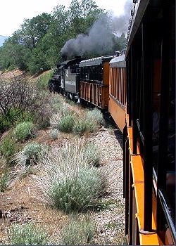 In The Lens Photography: Durango & Silverton Railroad, Color