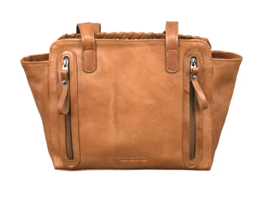 American West Handbag Annie's Secret Collection: Zip Top Tote