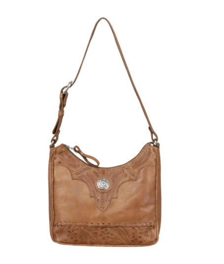 American West Handbag Annie's Secret Shoulder Bag Front