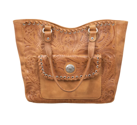 American West Handbag Annie's Secret Tote Bag Front