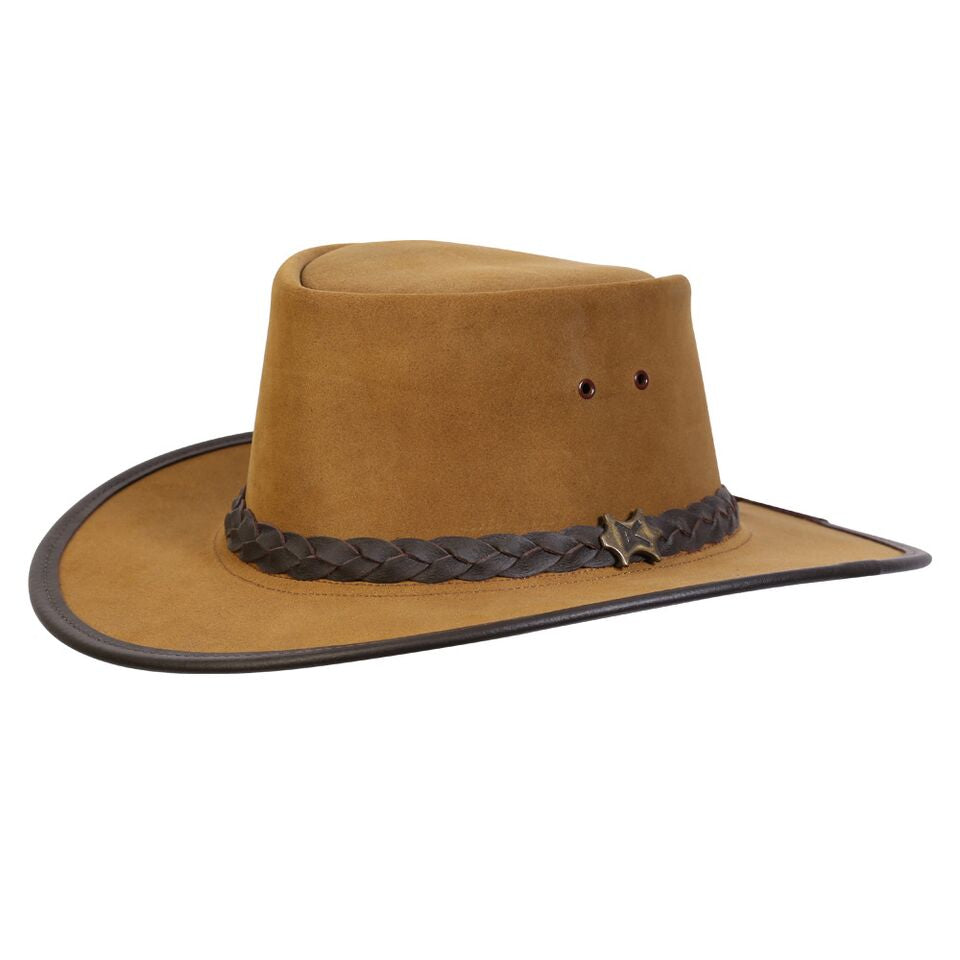 8244405b655 Cowboy Western Style Suede  Safari Outback Stockman. Conner Handmade Hats