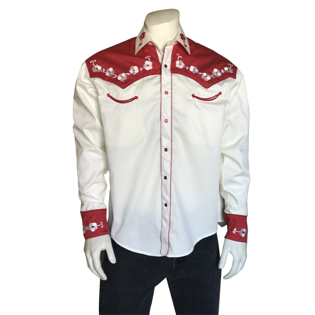 Men's Vintage Western Shirt Collection: Rockmount Elvis Loving You