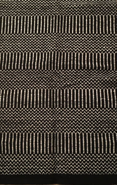 Saddle Blanket Black and White